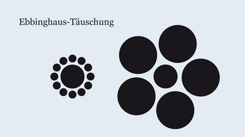 Ebbinghaus-Täuschung