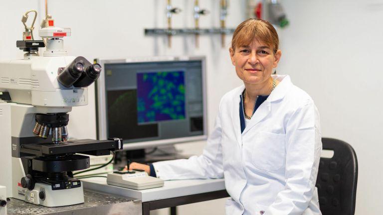 Prof. Dr. Christine Rose, Leiterin des Instituts für Neurobiologie